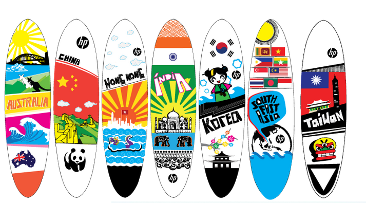 Shaper Studios + HP Surfboard Project