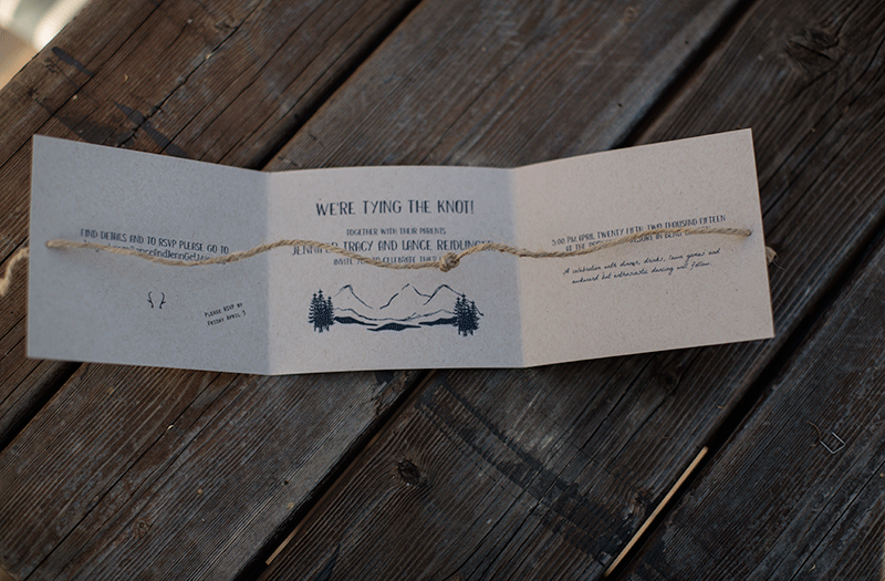 J+L Wedding Invites
